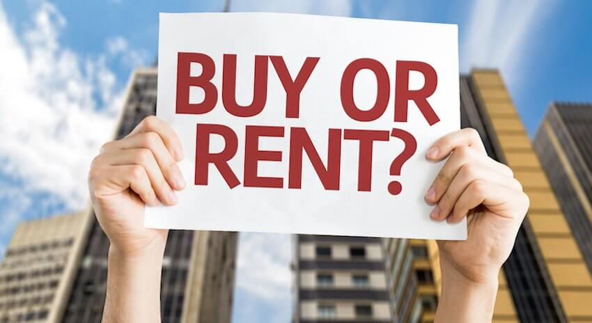 millenials renting instead of buying
